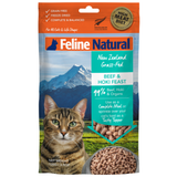 Feline Natural, Cat Food, Freeze Dried, Beef & Hoki