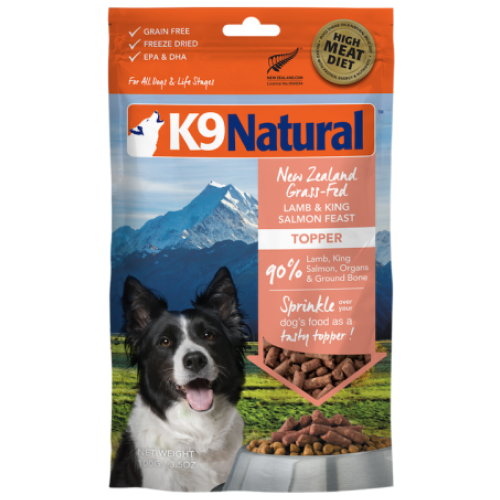K9 Natural, Dog Food, Freeze Dried, Lamb & Salmon