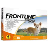 Frontline Plus, Dog Healthcare, Fleas & Ticks, Dogs 2kg to 10kg (Small Dogs)