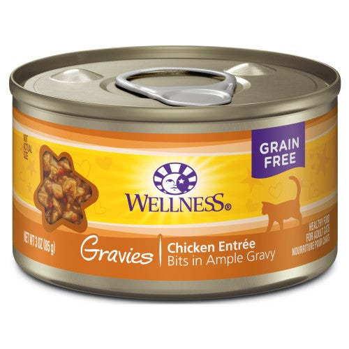Wellness Complete Health, Cat Wet Food, Grain Free, Gravies, Chicken Entree