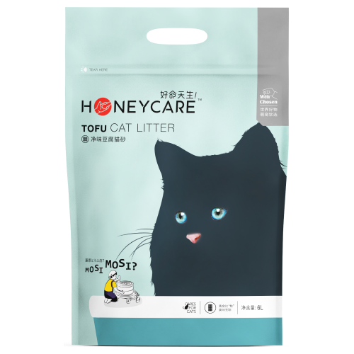Honeycare, Cat Hygiene, Litter, Tofu