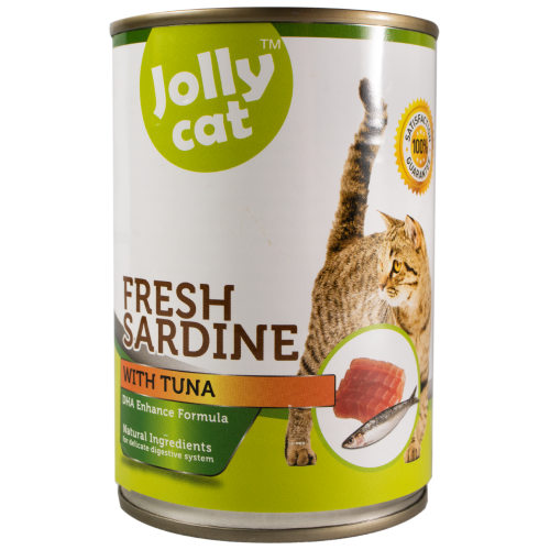 Jolly Cat, Cat Wet Food, Fresh Sardine with Tuna (By Carton)