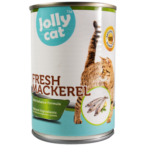 Jolly Cat, Cat Wet Food, Fresh Mackerel (By Carton)