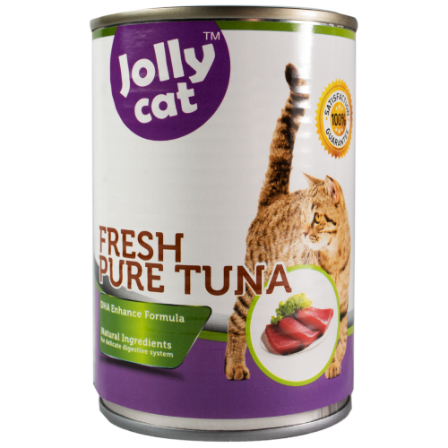 Jolly Cat, Cat Wet Food, Fresh Pure Tuna (By Carton)