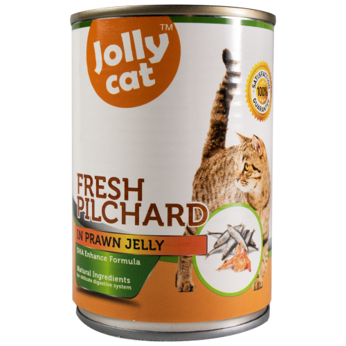 Jolly Cat, Cat Wet Food, Fresh Pilchard in Prawn Jelly (By Carton)