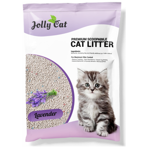 Jolly Cat, Cat Hygiene, Litter, Bentonite Cat Sand, Lavender