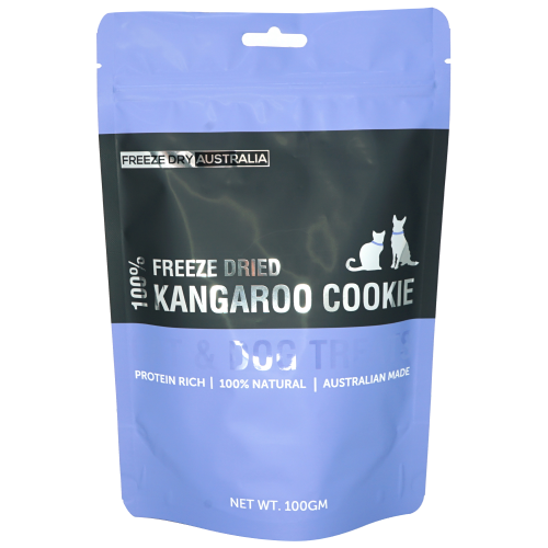 Freeze Dry Australia, Dog & Cat Treats, Freeze Dried, Kangaroo Cookie