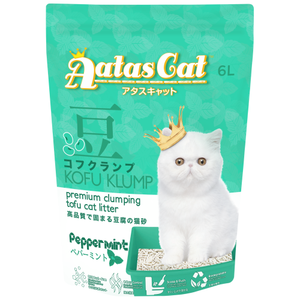 Aatas Cat, Cat Hygiene, Litter, Kofu Klump, Tofu, Peppermint