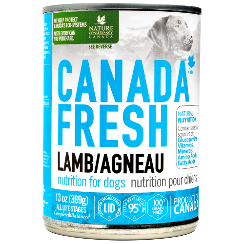 Canada Fresh, Dog Wet Food, Lamb (By Carton)