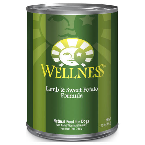 Wellness Complete Health, Dog Wet Food, Pate, Lamb & Sweet Potato