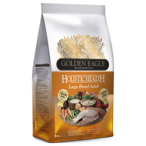Golden Eagle, Dog Dry Food, Holistic 24/14, Large Breed Adult, Chicken & Rice