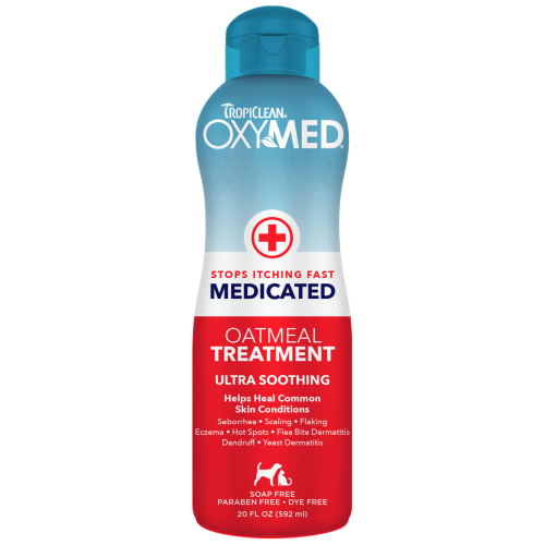 TropiClean, Dog & Cat Healthcare, Others, OxyMed Medicated Oatmeal Treatment Rinse