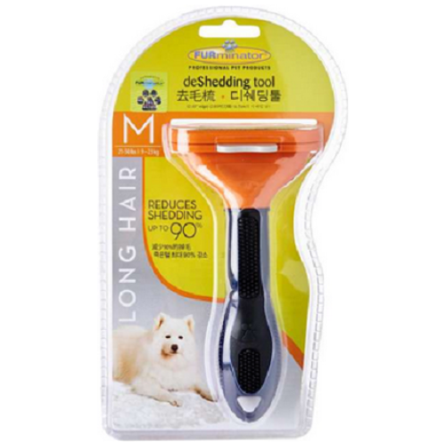 FURminator, Dog Hygiene, Grooming Tools, Medium Dog Deshedding Tool