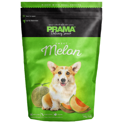 Prama, Dog Treats, Melon