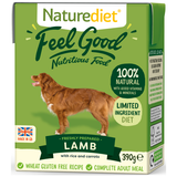 Naturediet, Dog Wet Food, Feel Good, Lamb (2 Sizes)