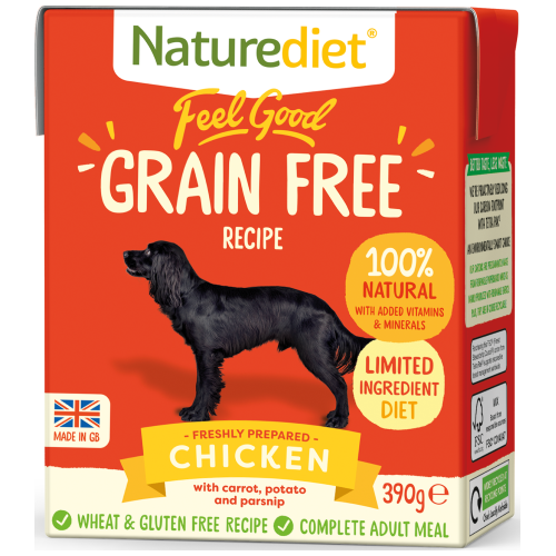 Naturediet, Dog Wet Food, Feel Good, Grain Free, Chicken (2 Sizes)