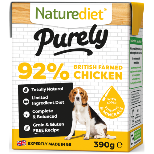 Naturediet, Dog Wet Food, Purely, Grain Free, Chicken
