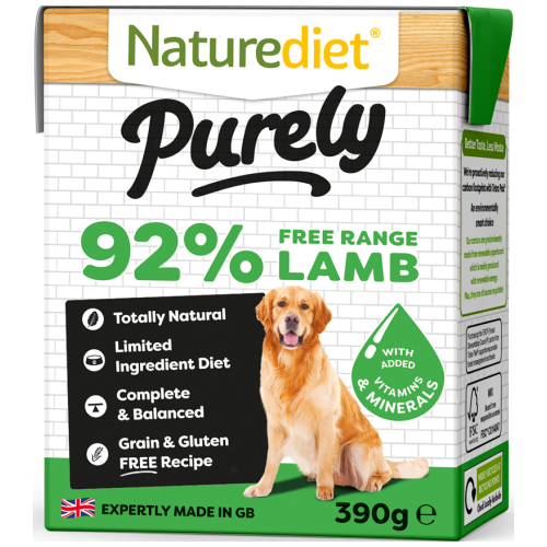 Naturediet, Dog Wet Food, Purely, Lamb