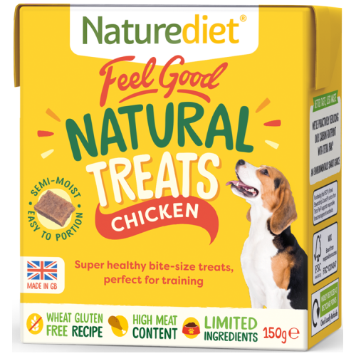Naturediet, Dog Treats, Feel Good, Natural Treats, Chicken