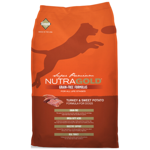 NutraGold, Dog Dry Food, Grain Free, Turkey & Sweet Potato