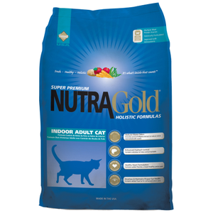 NutraGold, Cat Dry Food, Holistic, Indoor Adult, Chicken & Chicken Meal