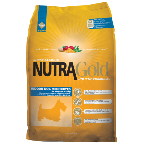 NutraGold, Dog Dry Food, Holistic, Indoor, MicroBites