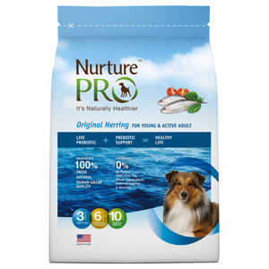 Nurture Pro, Dog Dry Food, Original, Active and Young Adult, Herring (3 Sizes)