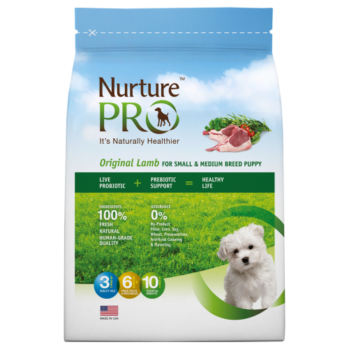 Nurture Pro, Dog Dry Food, Original, Small & Medium Breed Puppy, Lamb