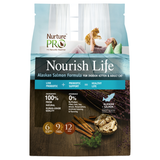 Nurture Pro, Cat Dry Food, Nourish Life, FREE 1 Longevity Cat Can with 4lb Bag