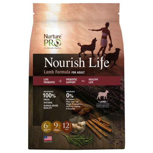 Nurture Pro, Dog Dry Food, Nourish Life, Adult, Lamb