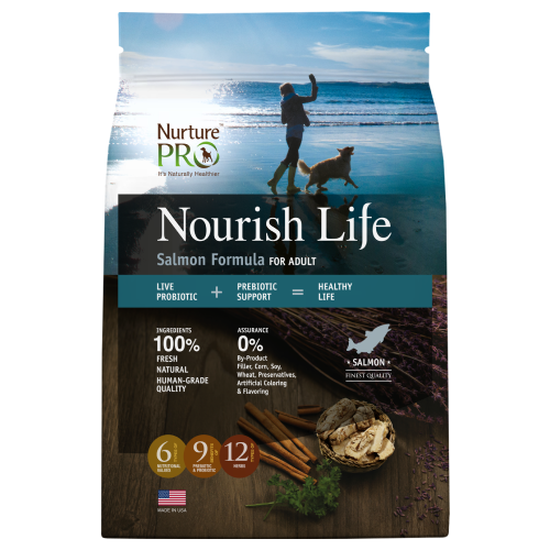 Nurture Pro, Dog Dry Food, Nourish Life, Adult, Salmon (3 Sizes)