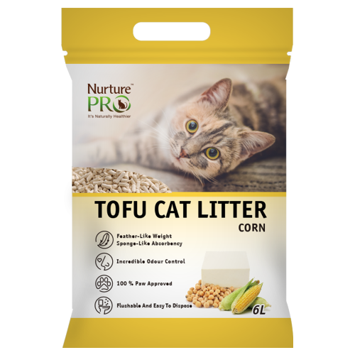 Nurture Pro, Cat Hygiene, Litter, Tofu, Corn (By Carton)