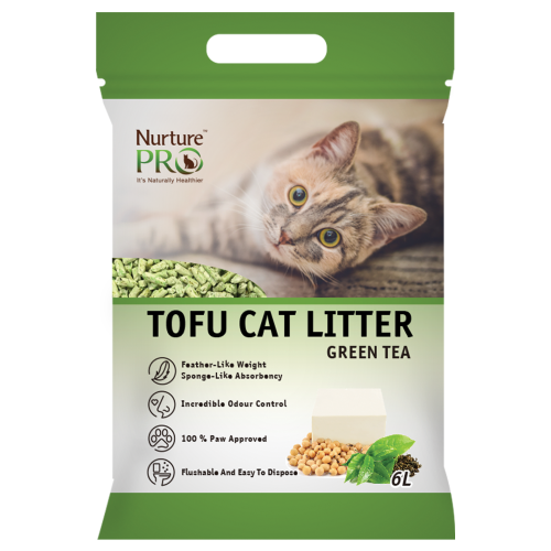 Nurture Pro, Cat Hygiene, Litter, Tofu, Green Tea
