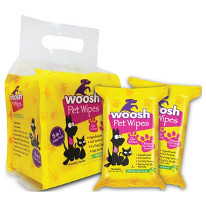 Woosh, Dog & Cat Hygiene, Wipes & Ear Washes, Pet Wipes