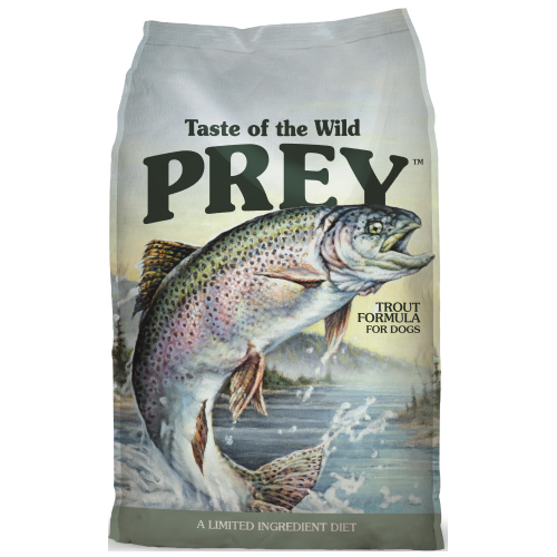 Taste of the Wild, PREY, Dog Dry Food, Limited Ingredient , Trout (2 Sizes)