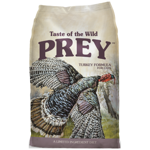 Taste of the Wild, PREY, Cat Dry Food, Limited Ingredient, Turkey (2 Sizes)