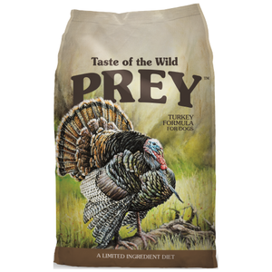 Taste of the Wild, PREY, Dog Dry Food, Limited Ingredient, Turkey (2 Sizes)