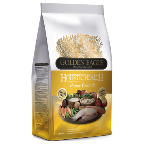Golden Eagle, Dog Dry Food, Holistic 28/17, Puppy, Chicken & Rice