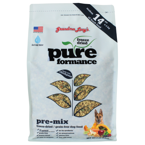 Grandma Lucy's, Dog Food, Freeze Dried, Grain Free, Pureformance Pre-Mix