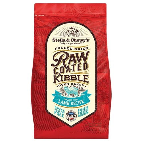 Stella & Chewy's, Dog Food, Freeze Dried Raw Coated Baked Kibble, Lamb (2 Sizes)