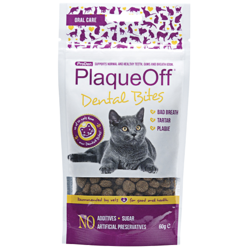 Swedencare, Cat Hygiene, Oral & Dental Care, ProDen PlaqueOff®, Dental Bites