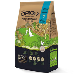 BowWow, Dog Dry Food, Origi-7, Air Dried, Organic, Soft Kibble, Salmon