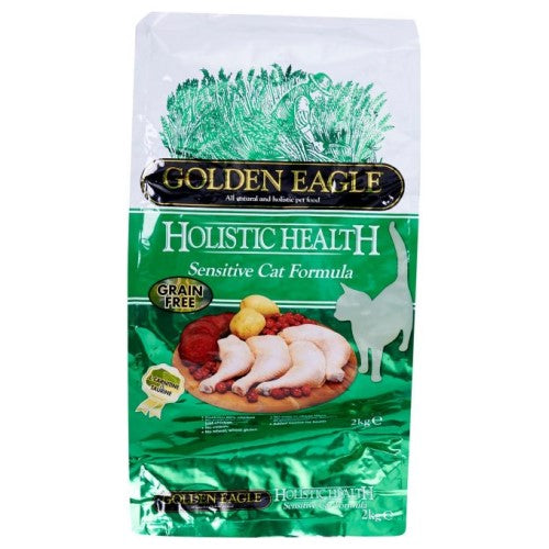 Golden Eagle, Cat Dry Food, Holistic, Grain Free, Sensitive 43/19, Chicken
