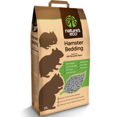 Nature's Eco, Small Pets Hygiene, Recycled Paper Hamster Bedding
