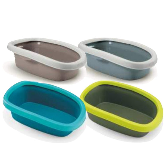 Stefanplast, Cat Hygiene, Litter Trays & Boxes, Sprint 20 (4 Colours)