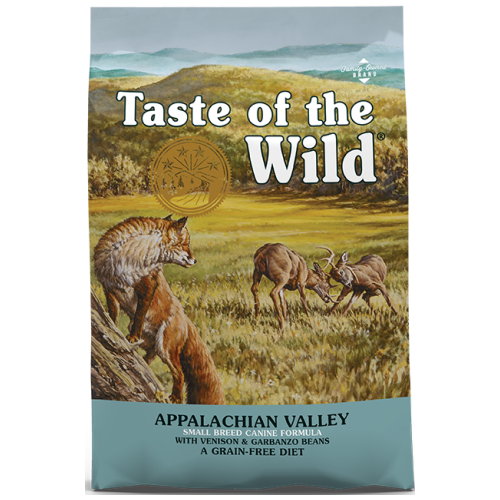 Taste of the Wild, Dog Dry Food, Appalachian Valley, Small Breed, Venison & Garbanzo Beans (2 Sizes)