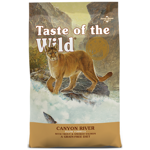 Taste of the Wild, Cat Dry Food, Canyon River, Trout & Smoked Salmon (2 Sizes)