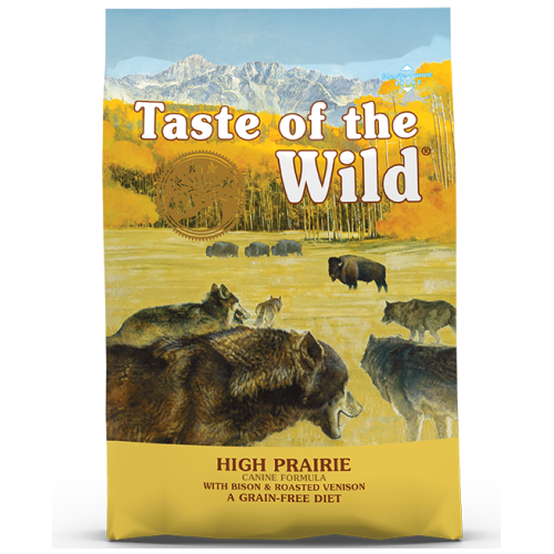 Taste of the Wild, Dog Dry Food, High Prairie, Bison & Roasted Venison (2 Sizes)