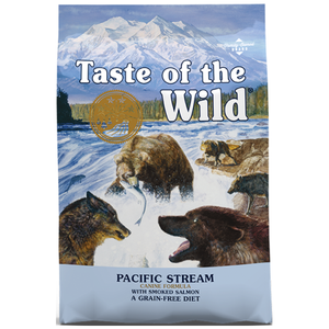 Taste of the Wild, Dog Dry Food, Pacific Stream, Smoked Salmon (2 Sizes)