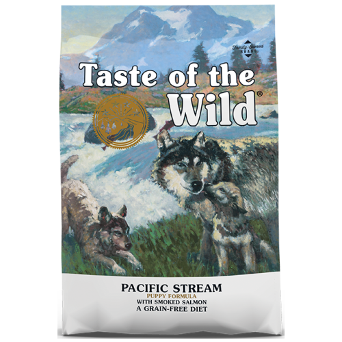 Taste of the Wild, Dog Dry Food, Pacific Stream Puppy, Smoked Salmon (2 Sizes)